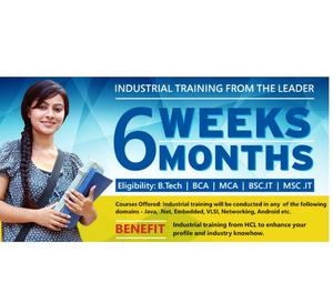 HCL OFFERS INDUSTRIAL TRAINING PROGRAM IN COIMBATORE