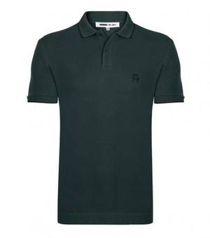 Mcq Alexander McQueen Green Short Sleeve Polo at Darveys