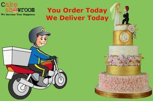 Midnight cake delivery service in Delhi NCR