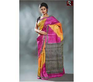 Multicolor exclusive Tussar Silk Saree Kolkata