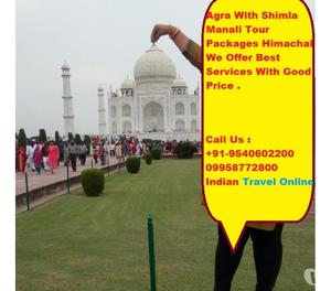 Romantic Agra With Shimla Kufri Tour Package From Bhavnagar