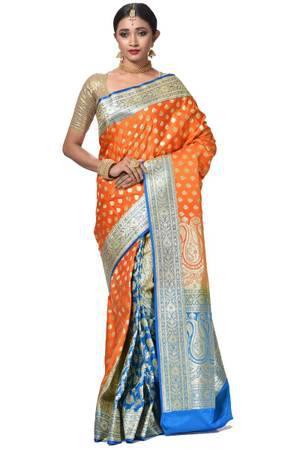 Wedding sarees,Bridal sarees,Designer banarasi saree online