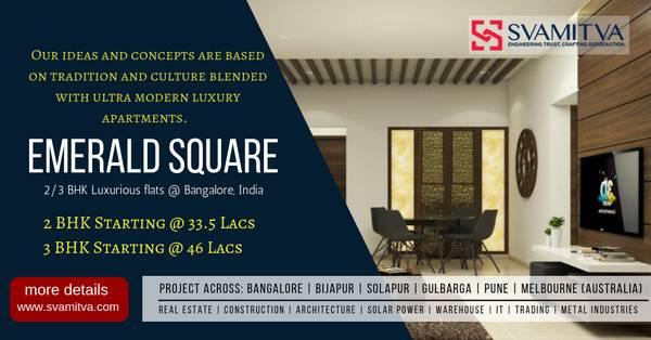 2 BHK and 3 BHK Apartments in Bommasandra Bangalore