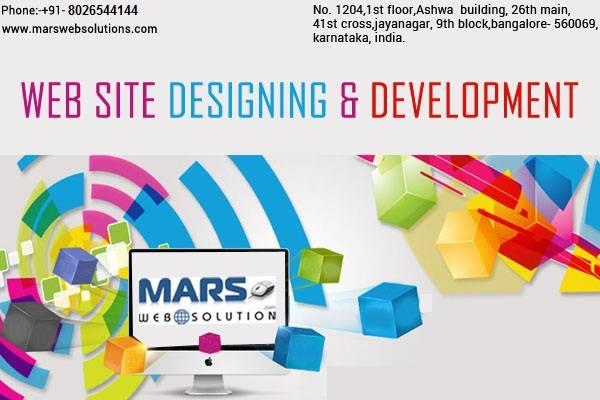 Best Web design company Bangalore - Mars Web Solution
