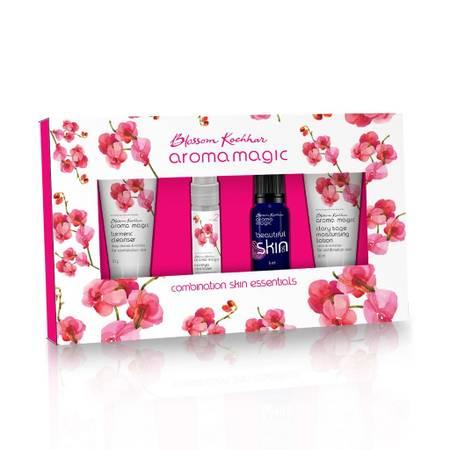 Combination Skin Essentials Kit Online at Aroma Magic