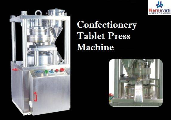 Confectionery Tablet Press Machine Manufacturer in India