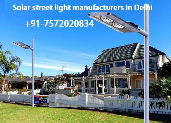 Energy Solar Street light manufacturers in Delhi