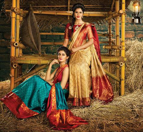 Latest party wear sarees at Urban India