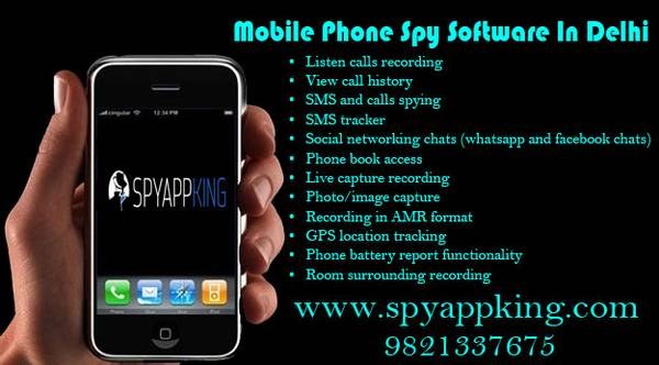 Mobile Phone Spying Software in Nehru Place