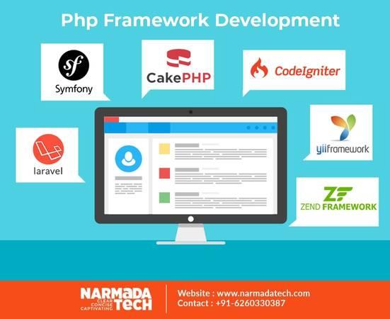 Top Php Framework Development Company - NarmadaTech