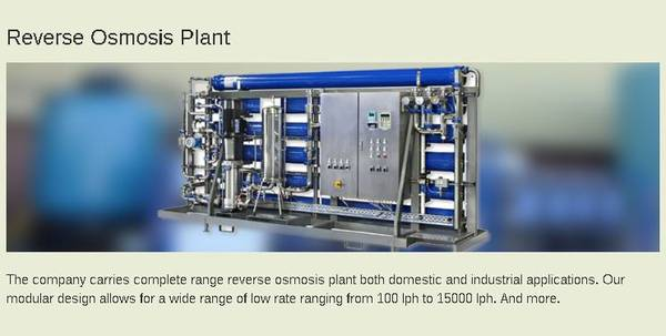 Water Treatment Plant Manufacturers in Bangalore Call: