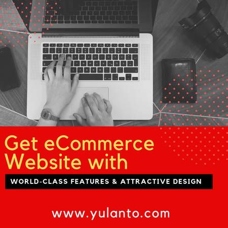 eCommerce Website with Attractive design for affordable cost