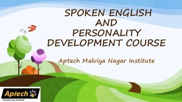 Aptech Malviya Nagar Institute offers English Speaking