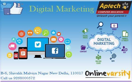 Aptech Malviya Nagar offers best Digital Marketing Course
