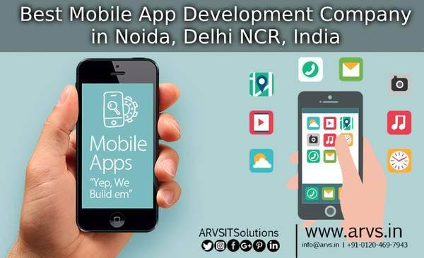 Best Mobile App Development Company in Noida, Delhi NCR,