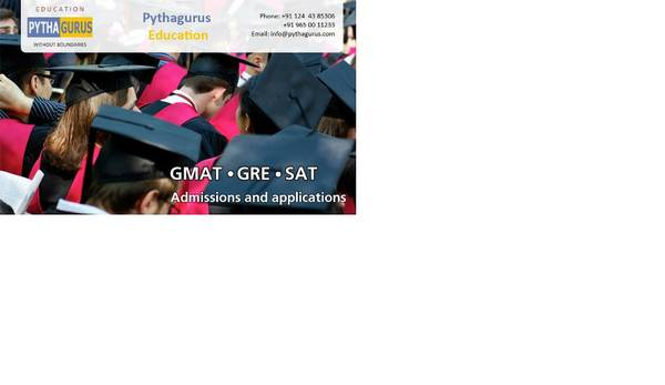 GMAT, GRE, SAT Admissions and Applications