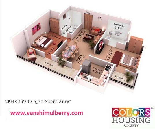 Vanshi Mulberry | Vanshi Buildtech Group