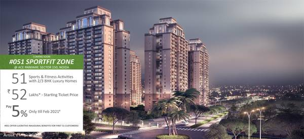 ACE Parkway 2/3BHK Apartments Noida Expressway