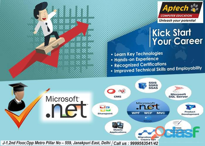 Aptech Janakpuri offers Diploma Courses after 12th