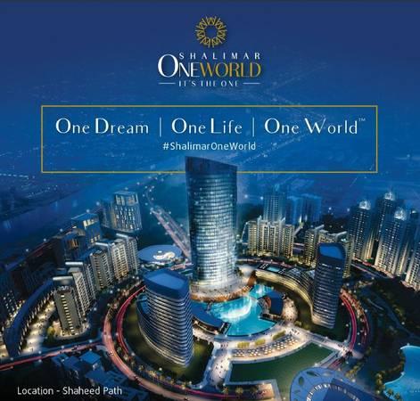 Shalimar OneWorld - 2BHK Luxury Apartments in 49 Lacs