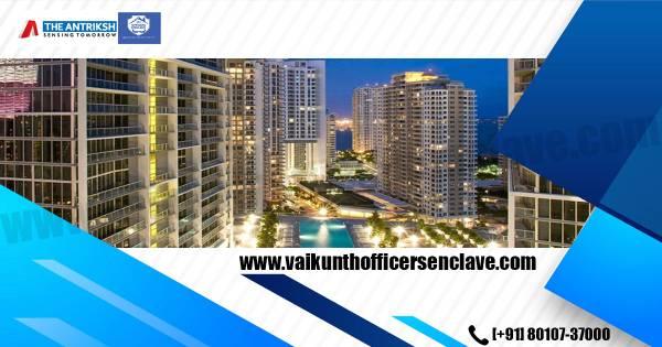 Antriksh Officers Enclave | 1 BHK Apartment