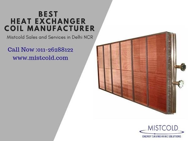 Best Heat Exchanger Coil Manufacturer in Delhi NCR -