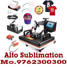 6 in 1 t shirt printing machine and computers computers