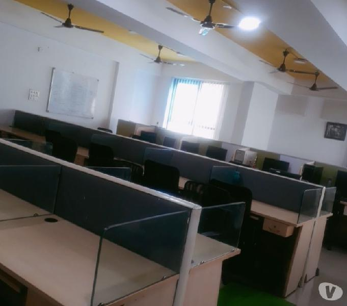Office space on rent fully furnished plug and play office JP