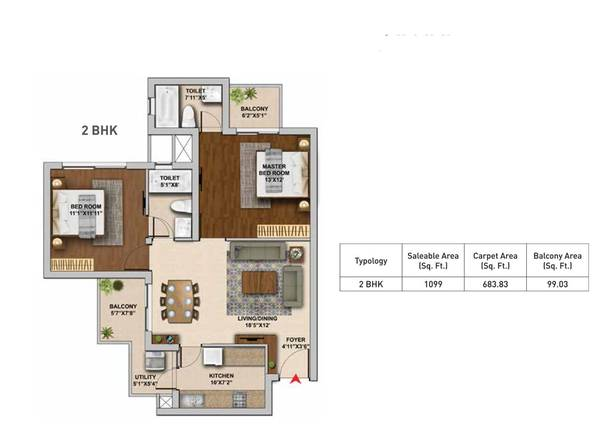 Hero Homes: 2 & 3BHK Flats in Sector 104