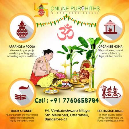 Pandit in Bangalore-Pandit for Puja in Indira Nagar