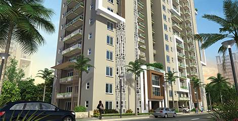 Emaar Palm Gardens Apartments for sale @1.05 Cr Only
