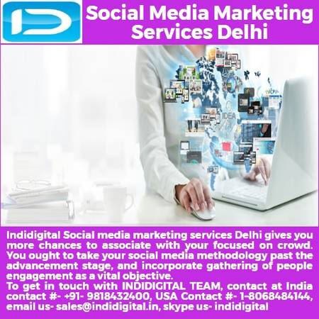 Find the best social media marketing services in Delhi