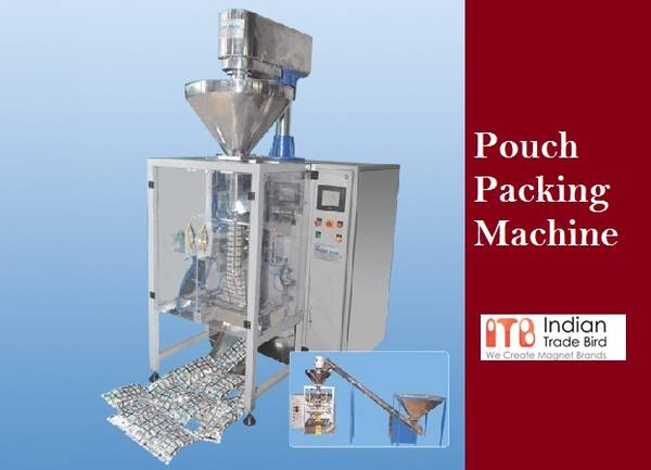 Buy Pouch Packing Machine in India at best price