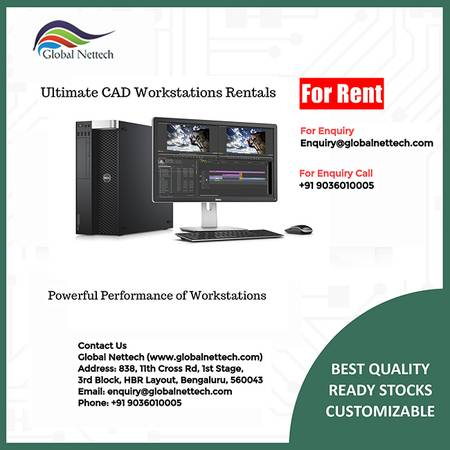 Ultimate CAD Workstations Rentals in Bangalore at Best