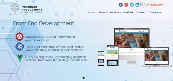 e-Commerce Web Development Services in USA| Forebear