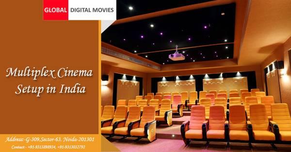 Best Multiplex Cinema Setup in India by GDM