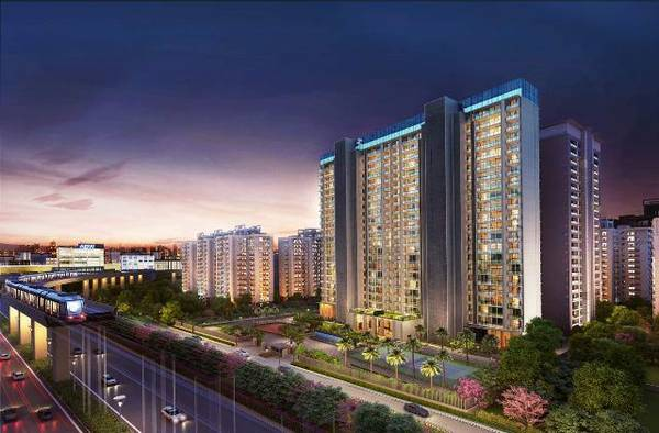 Super Luxury Apartments in Gurgaon MG Road - Platinum Towers