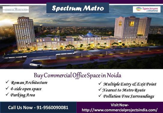 Commercial Office Space in Noida Spectrum Metro