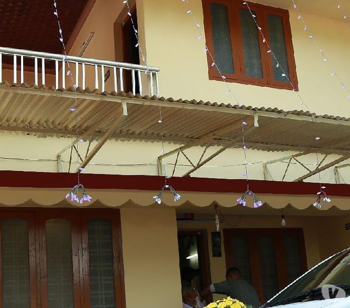 First Floor Rent 10000 Deposit 50000 at Thrissur East