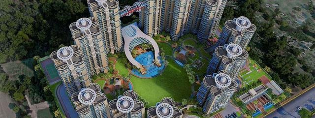 Flats in Samridhi Luxuriya Avenue Noida Expressway 97118368