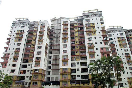 Residential Flat for Sale in Hiland Park E M Bypass