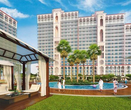 DLF Skycourt 3BHK AirConditioned Apartment in 125 Lacs