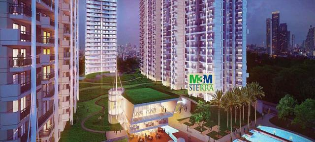 M3M Sierra 2BHKSTUDY Apartments on Sohna Road