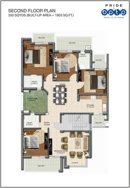 BPTP PRIDE LowDensity Living with Luxury Amenities