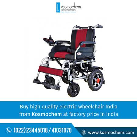 Buy electric wheelchair India at best price - Kosmochem