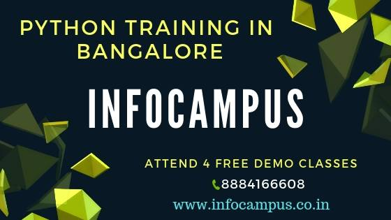 Learn python courses in Bangalore