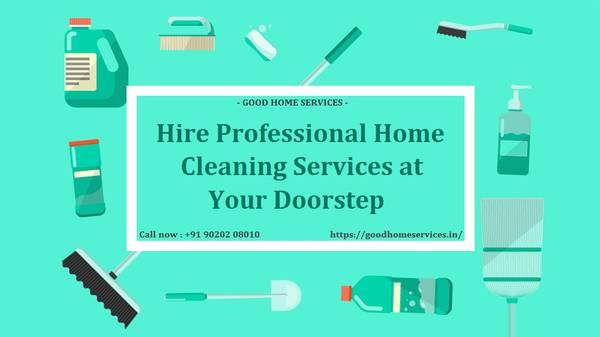 Hire Professional Home Cleaning Services at Your Doorstep