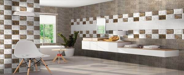 Square tiles from AGL for your home walls