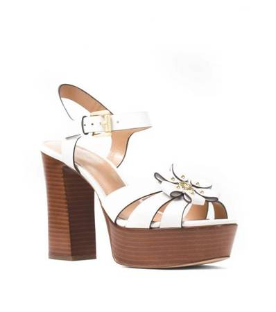 MICHAEL KORS Optice White Tara Floral Heels at Darveys
