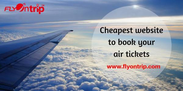 cheapest website to book your air tickets